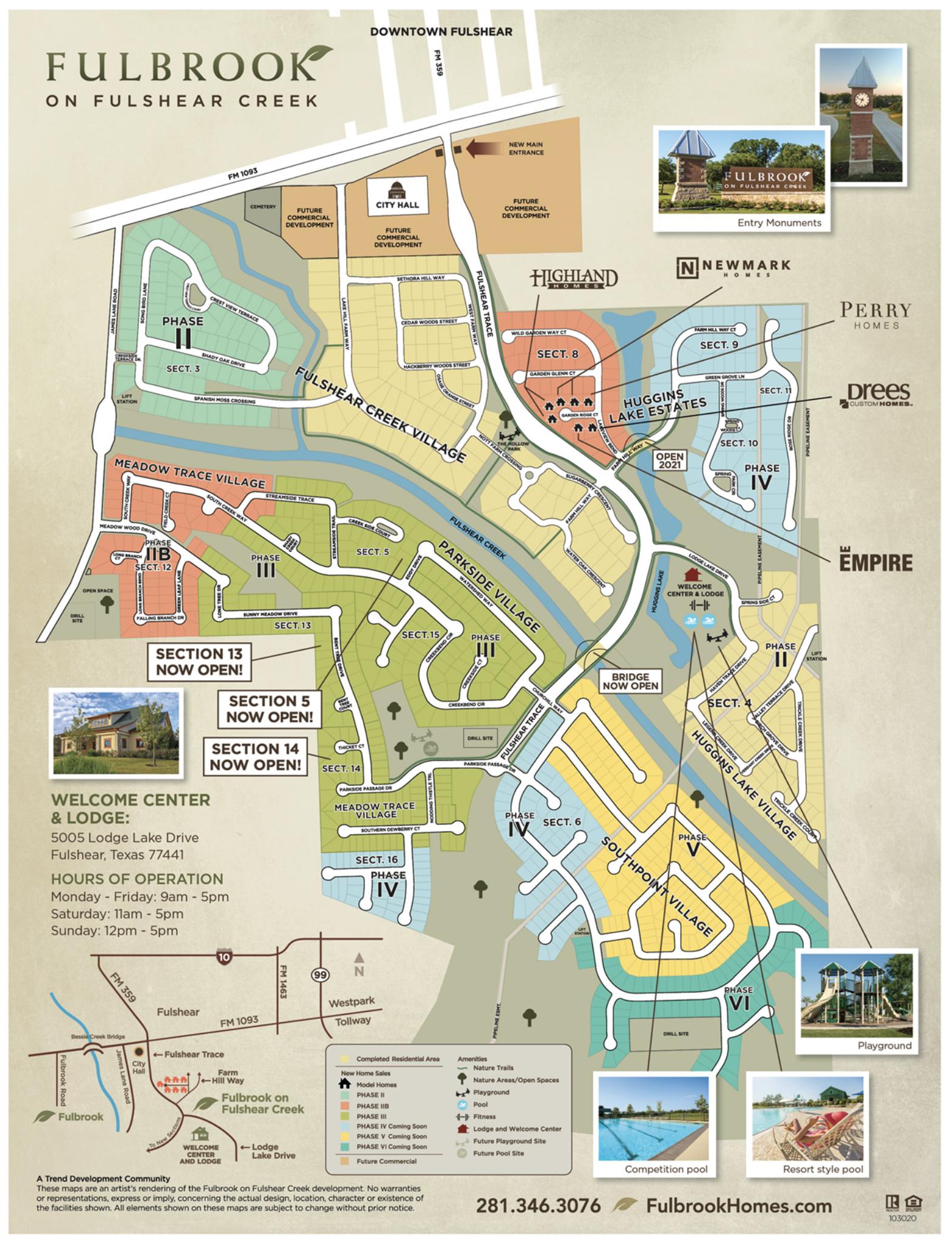 fulbrook_on_fulshear_creek_map
