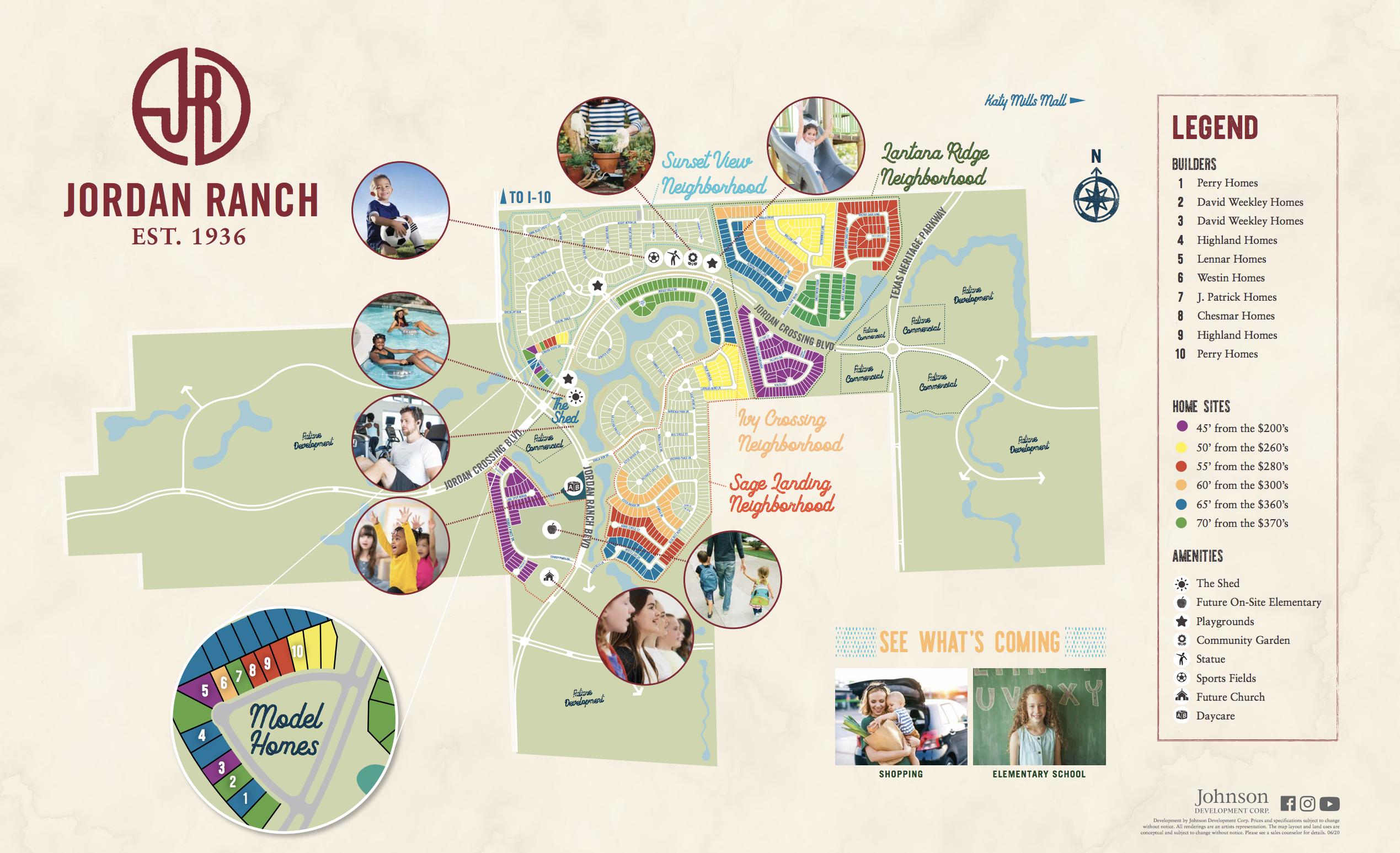 jordan ranch master planned community map