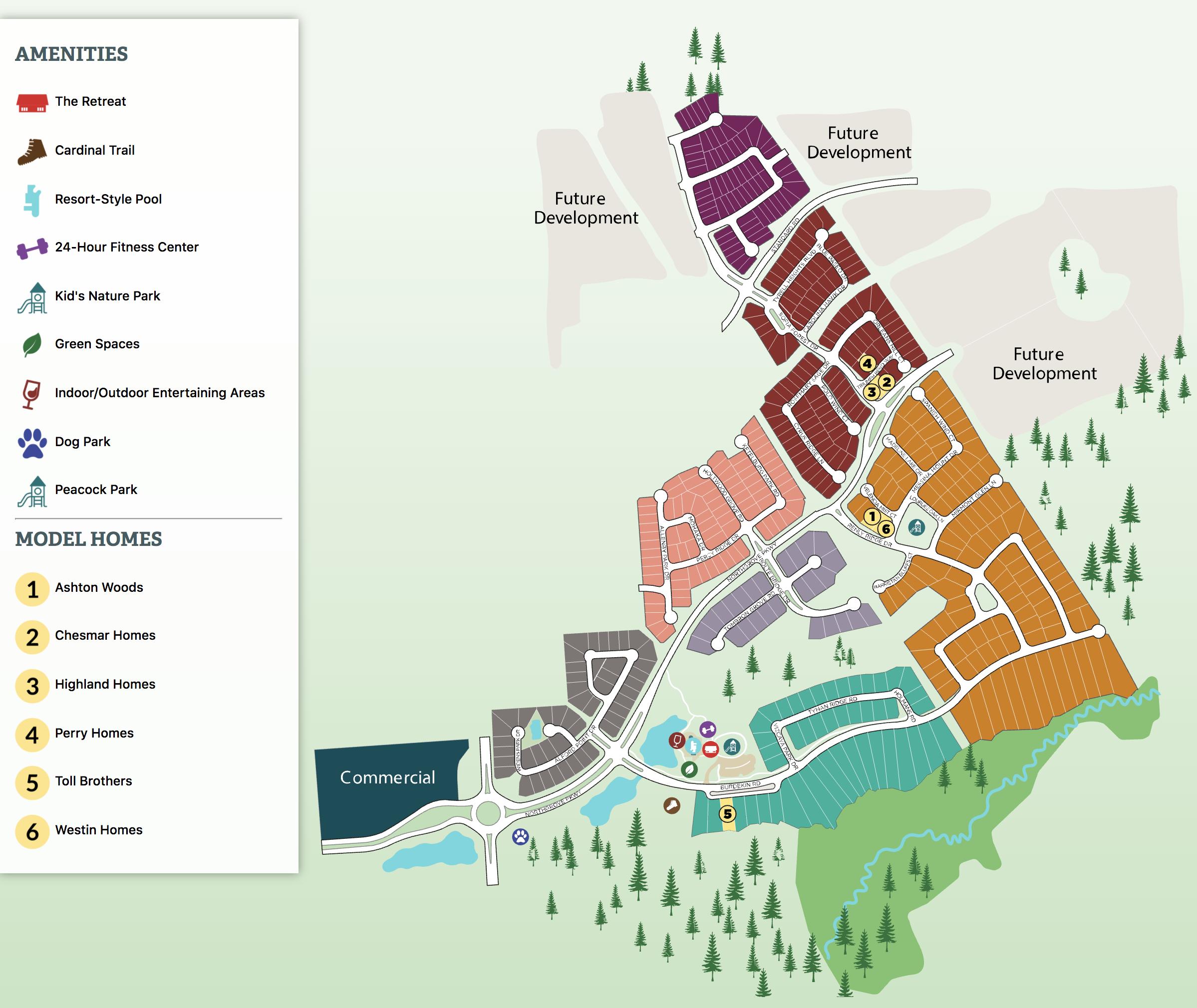 northgrove community map