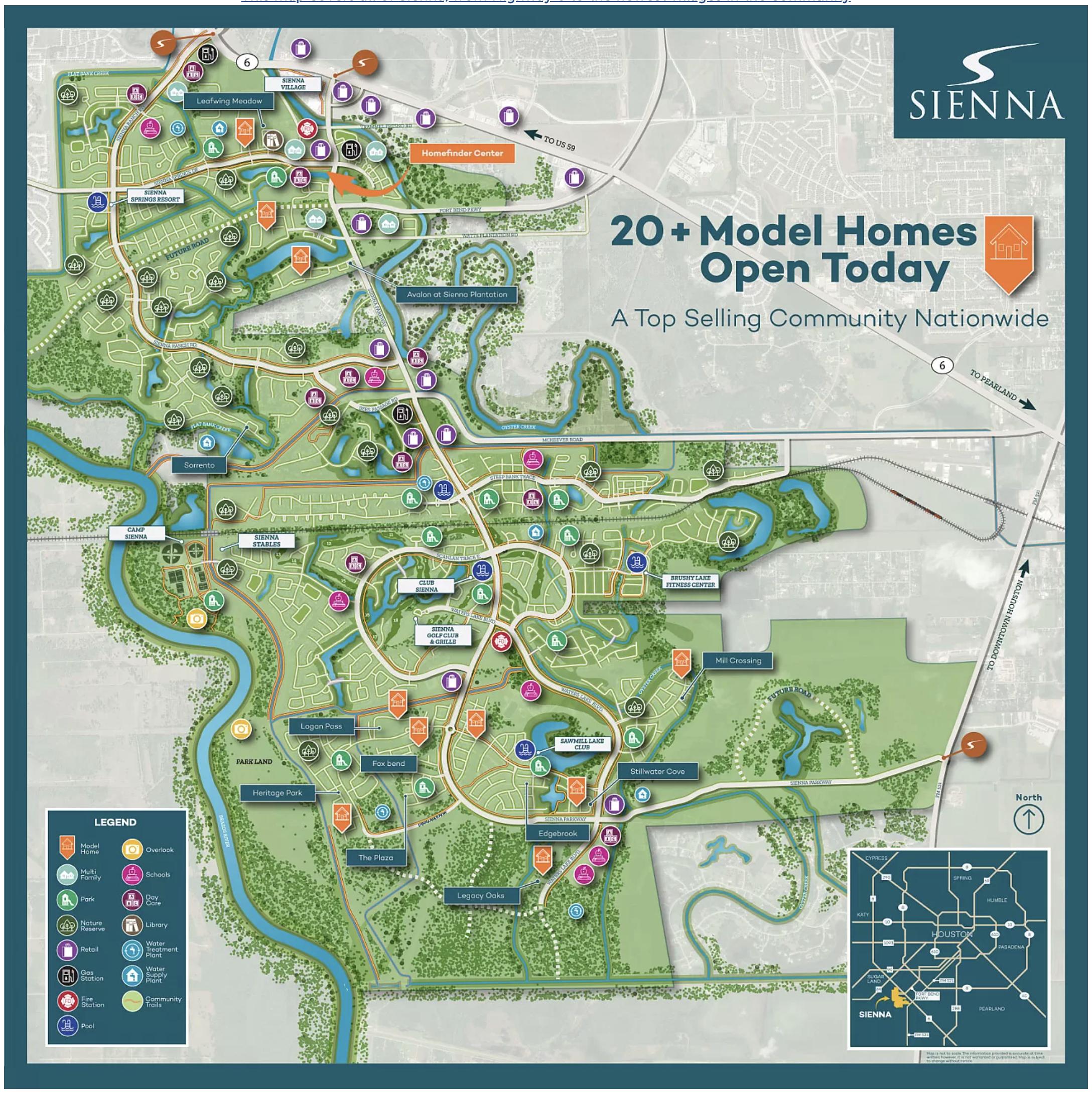 sienna map