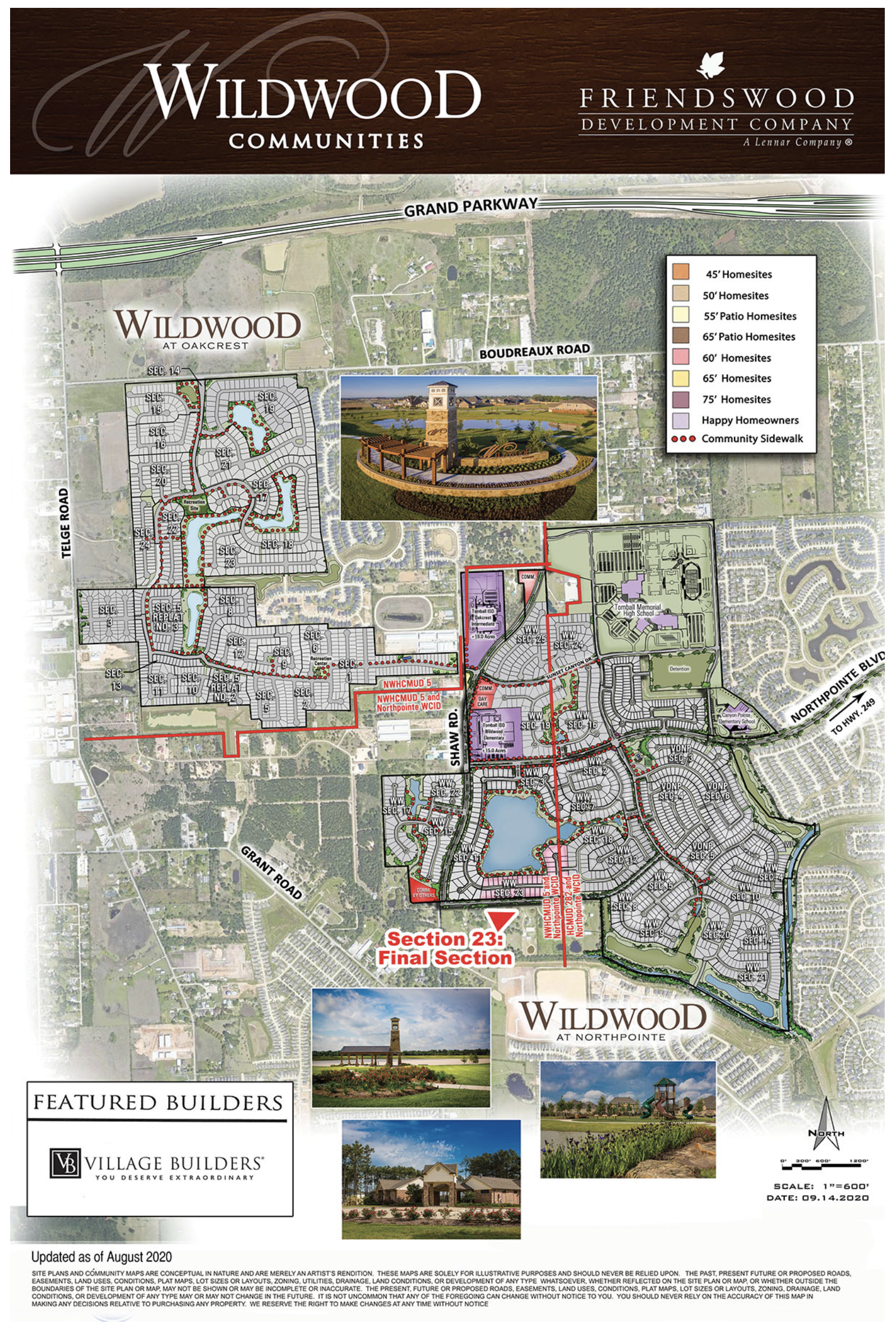 wildwood at northpoint map