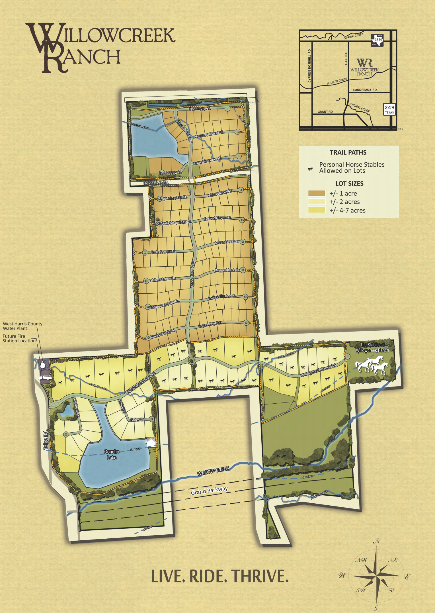 willowcreek ranch map
