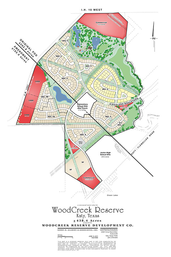 woodcreek reserve map