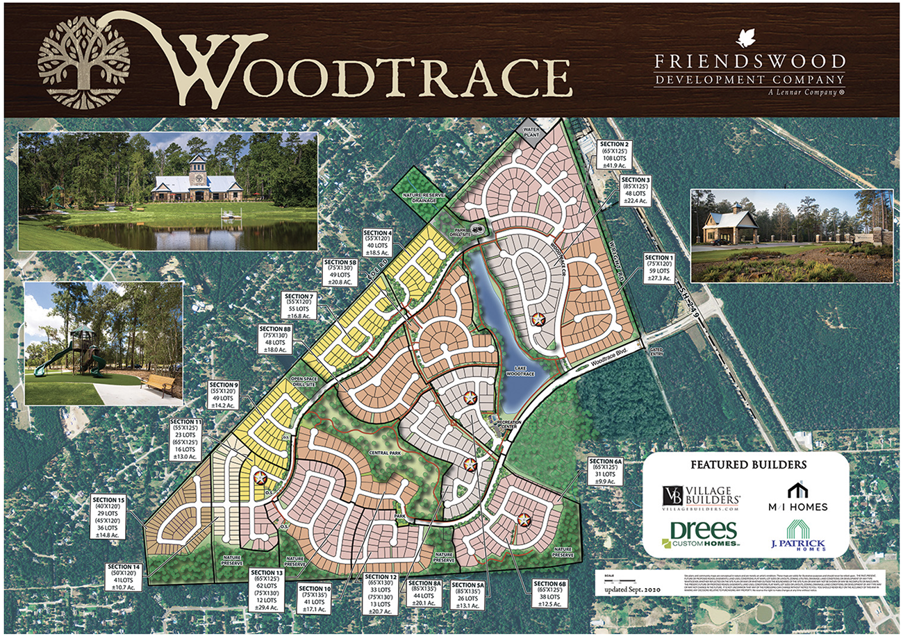 woodtrace map