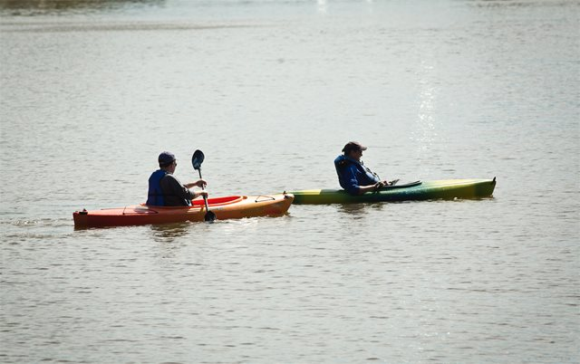 Shelby Farms Park kayak