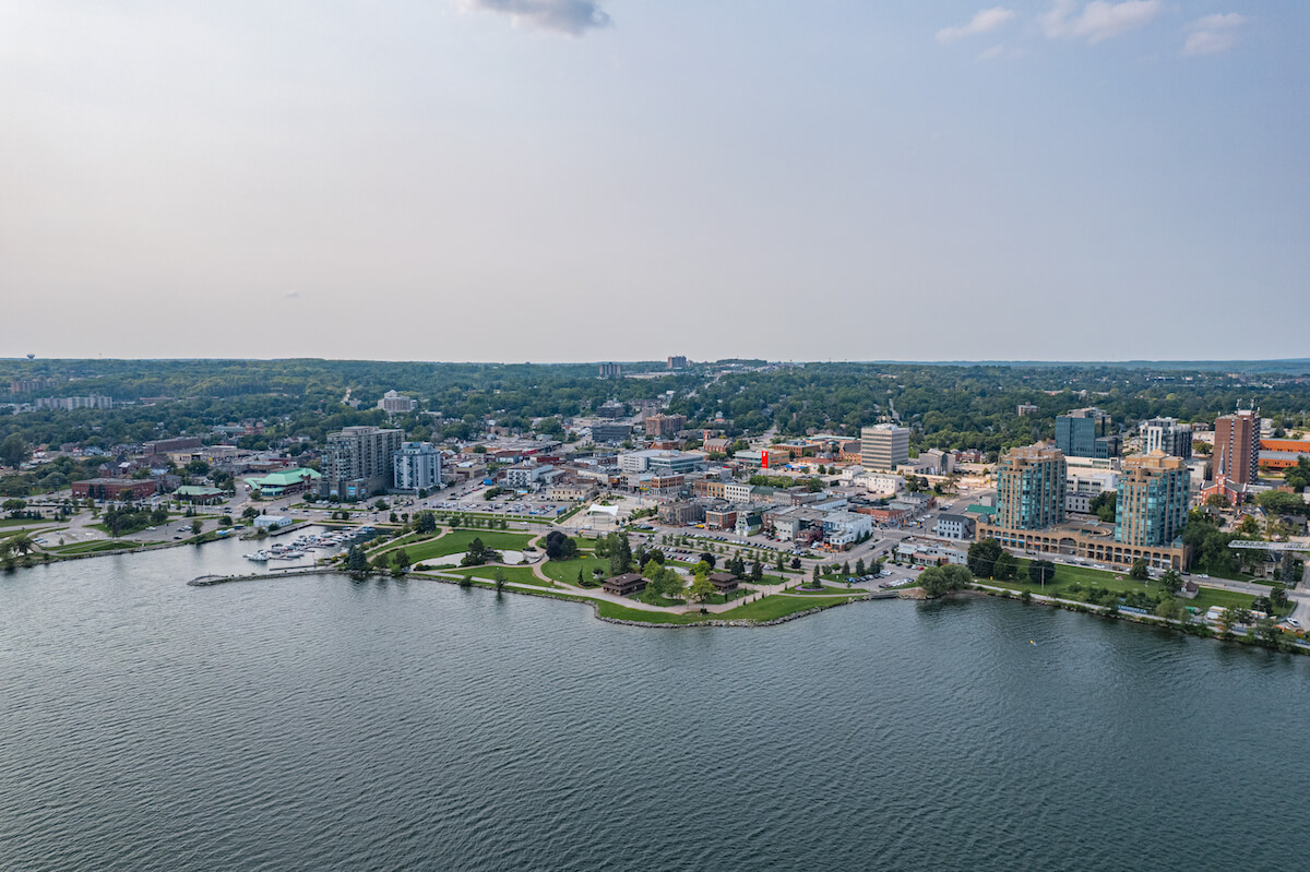 Community of Barrie in Ontario Canada