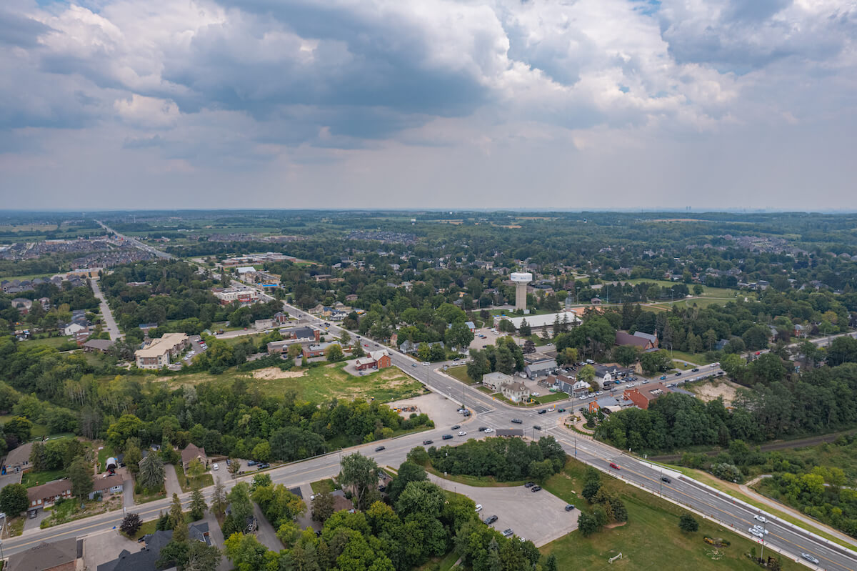 Community of King City in Ontario Canada