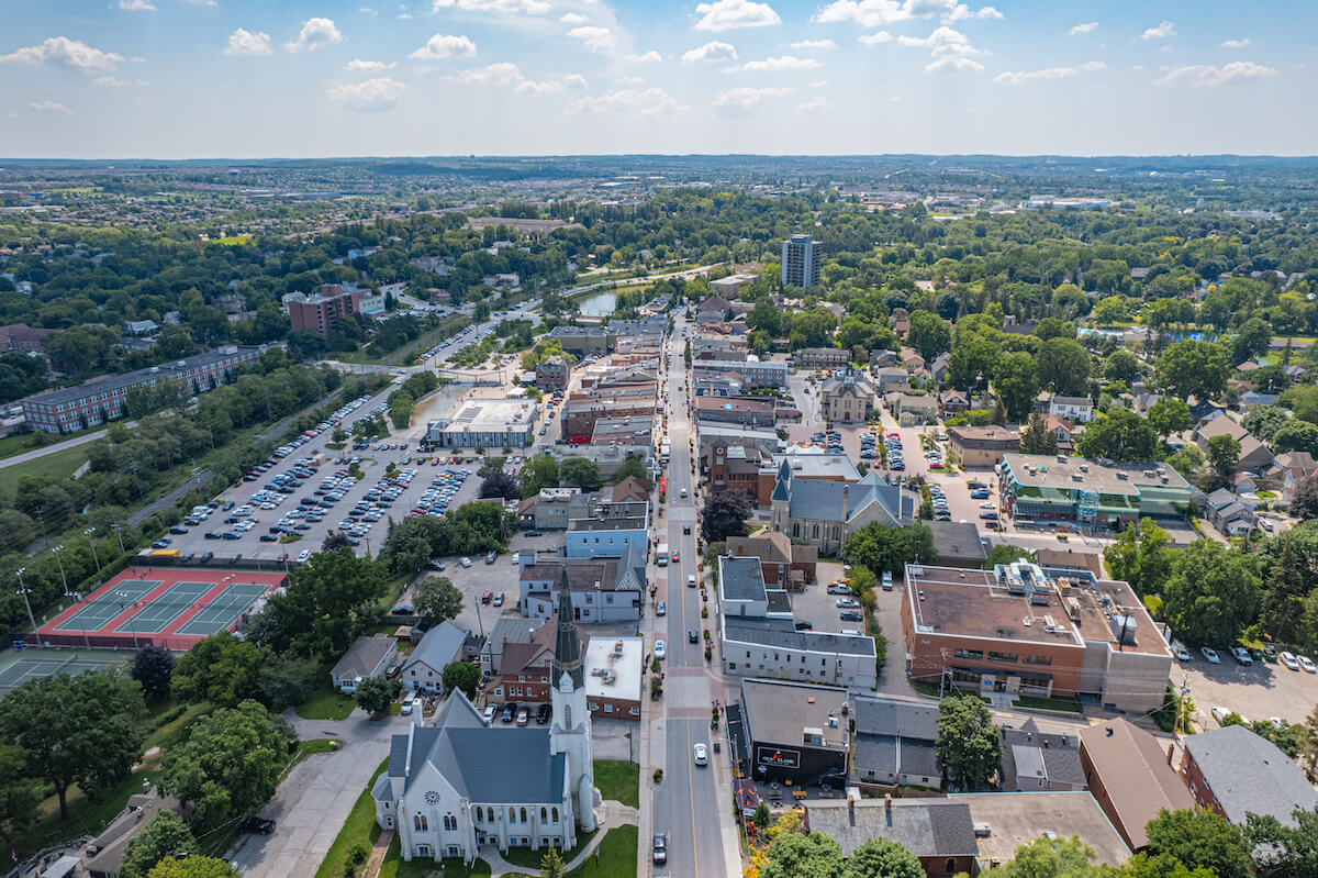 Town of Newmarket in Ontario Canada