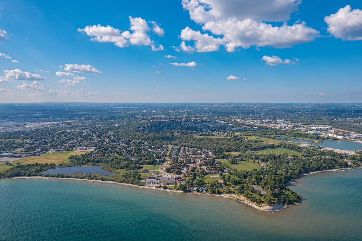 City of Oshawa in Ontario Canada