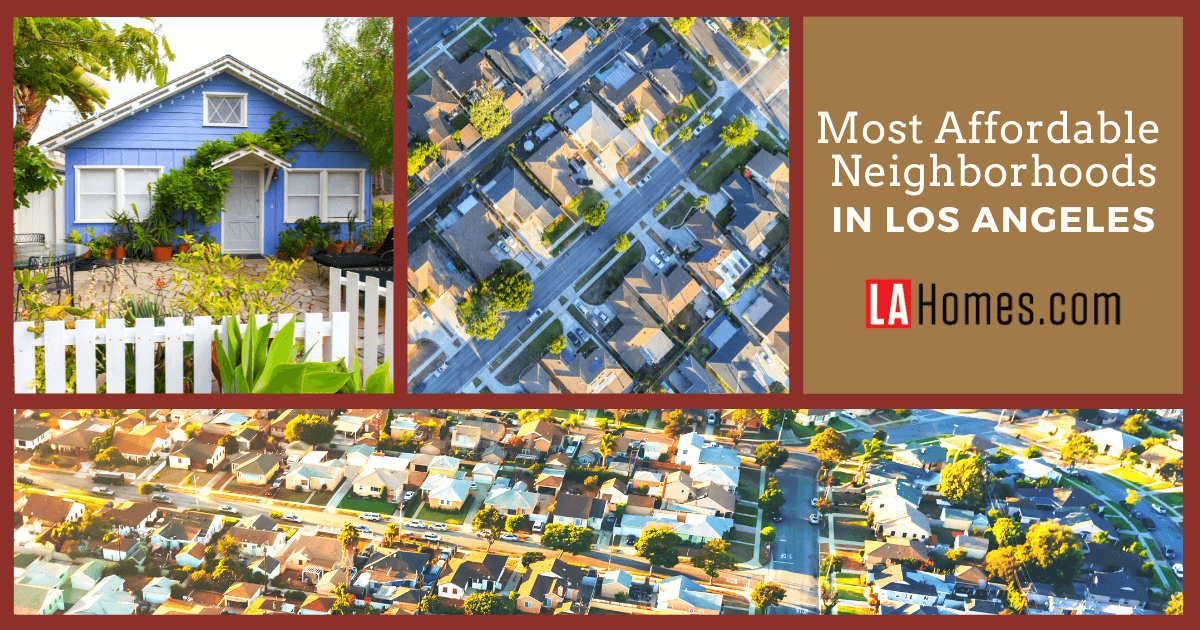 Los Angeles Most Affordable Neighborhoods