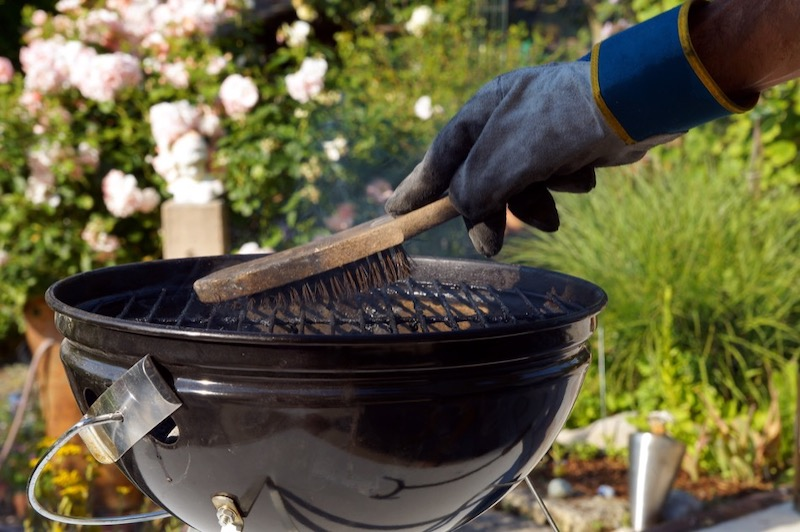 Cleaning Grills and Fire Pits