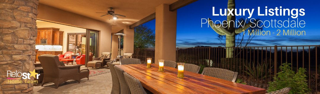 luxury homes in scottsdale between 1 and 2 million