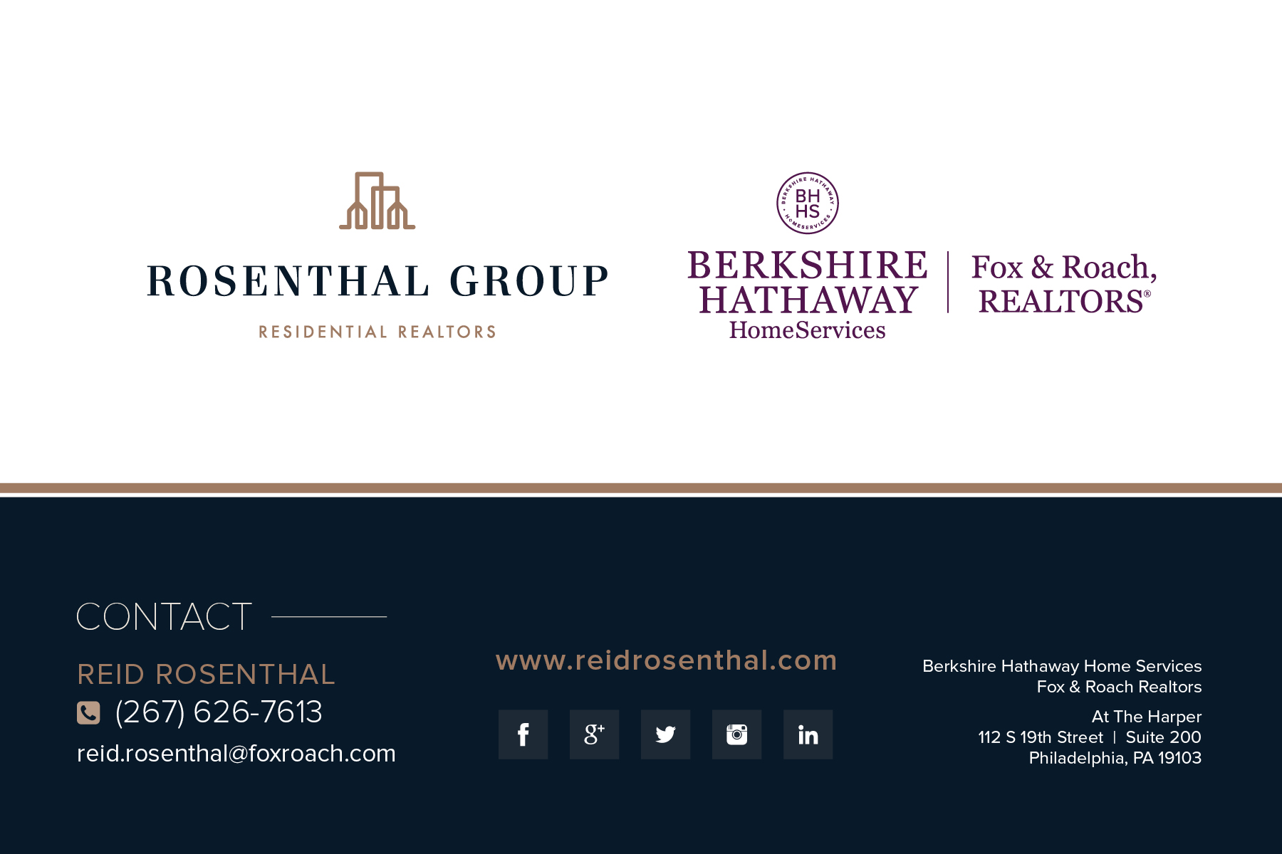 Reid Rosenthal and The Rosenthal Group Contact Information