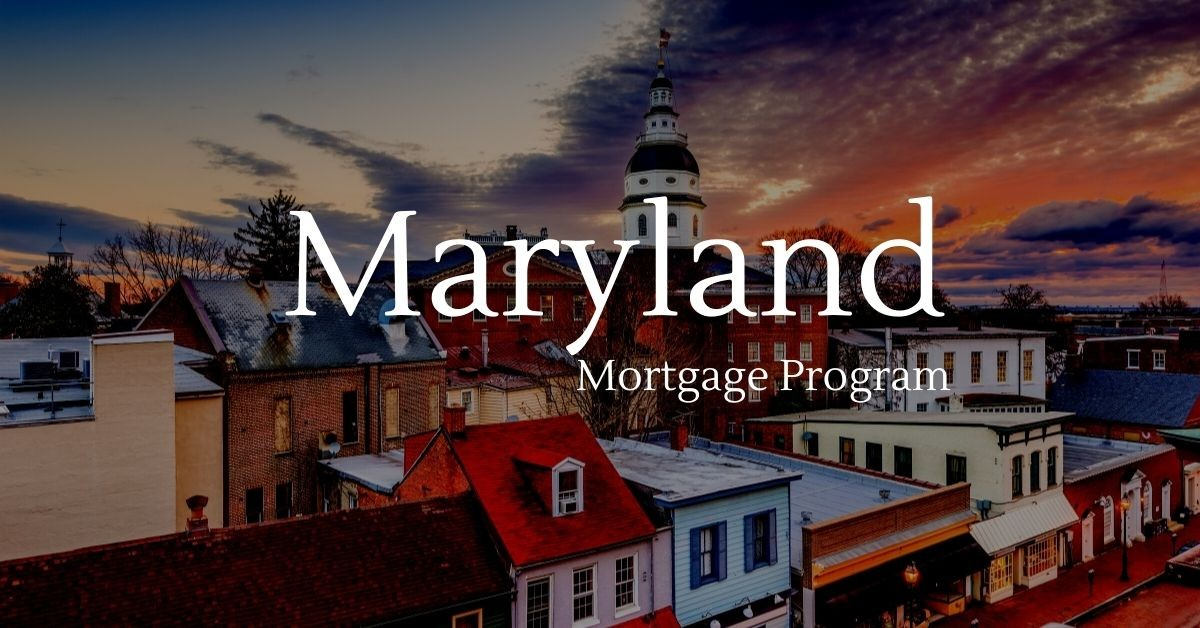 Maryland mortgage program for home buyers