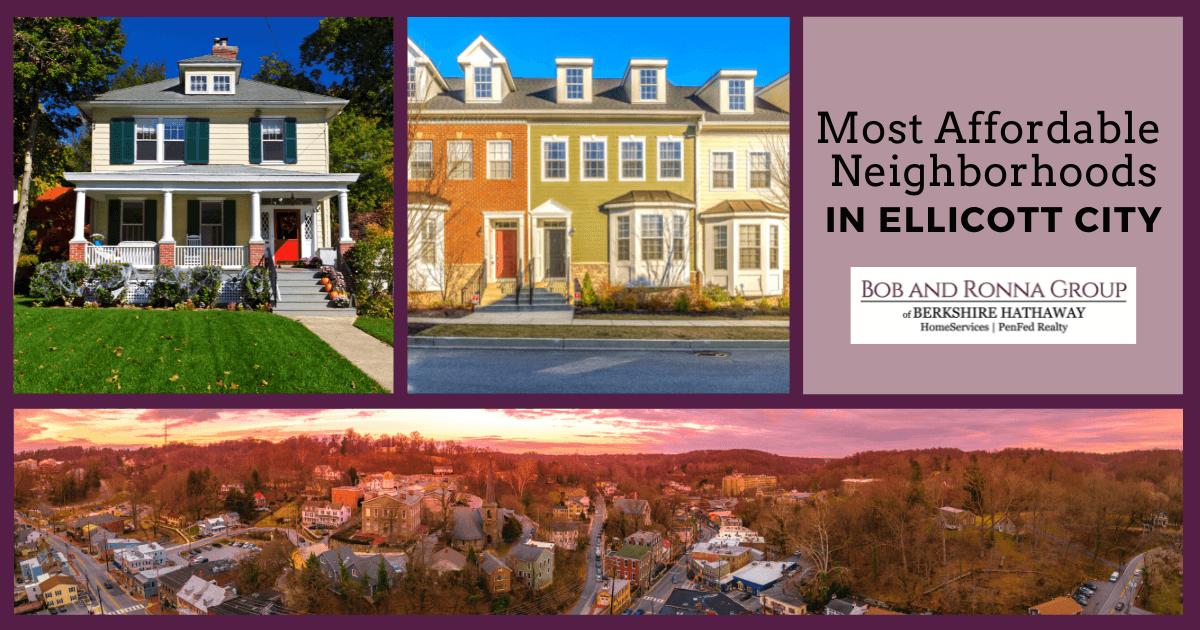 Ellicott City Most Affordable Neighborhoods