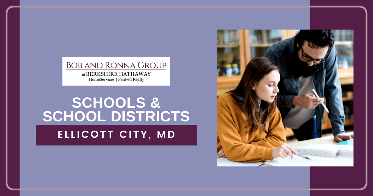 Schools and School Districts in Ellicott City