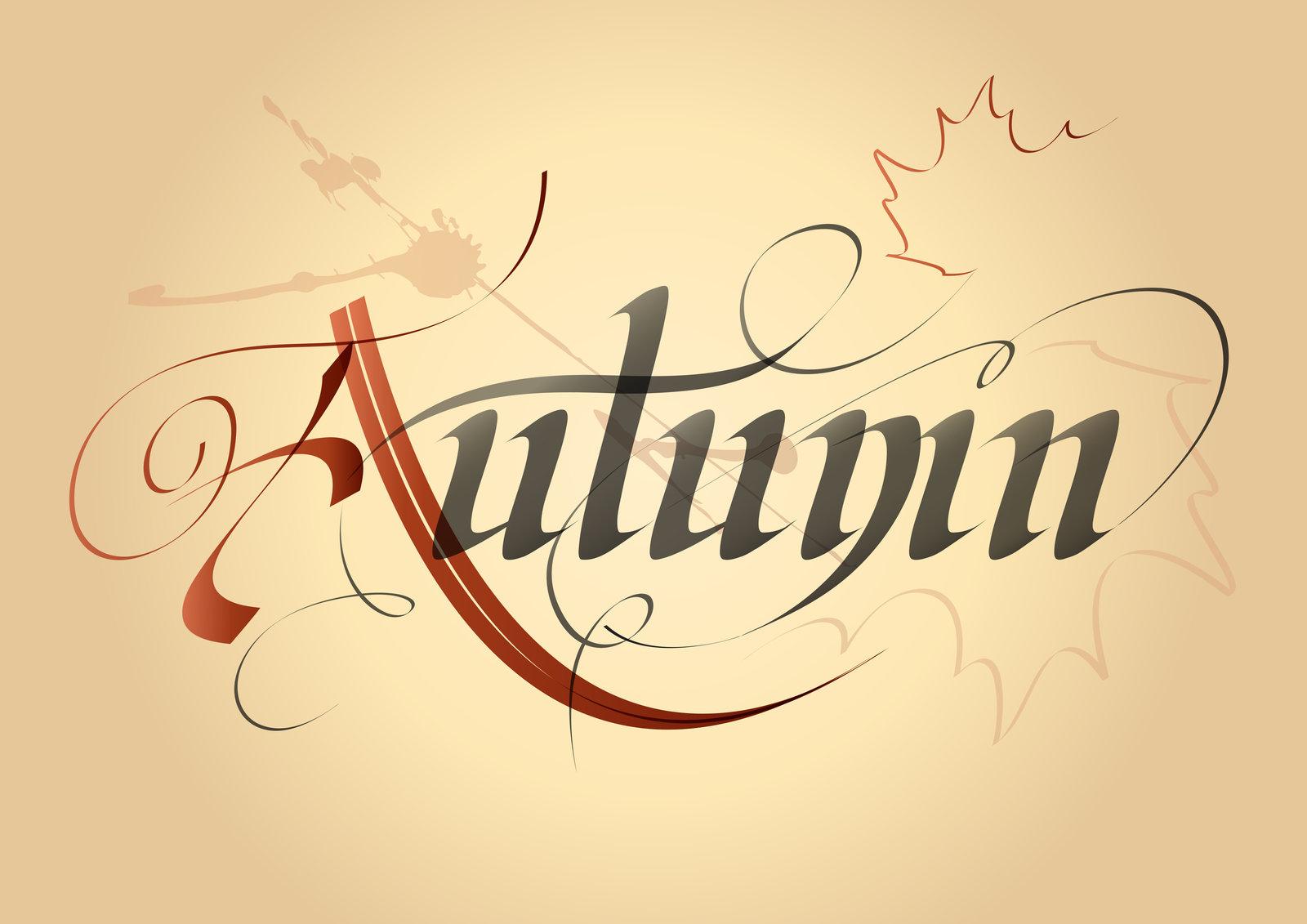 autumn written out