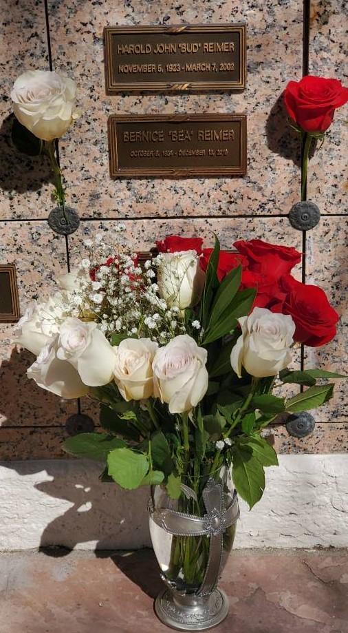 parent's columbarium at mesa arizona