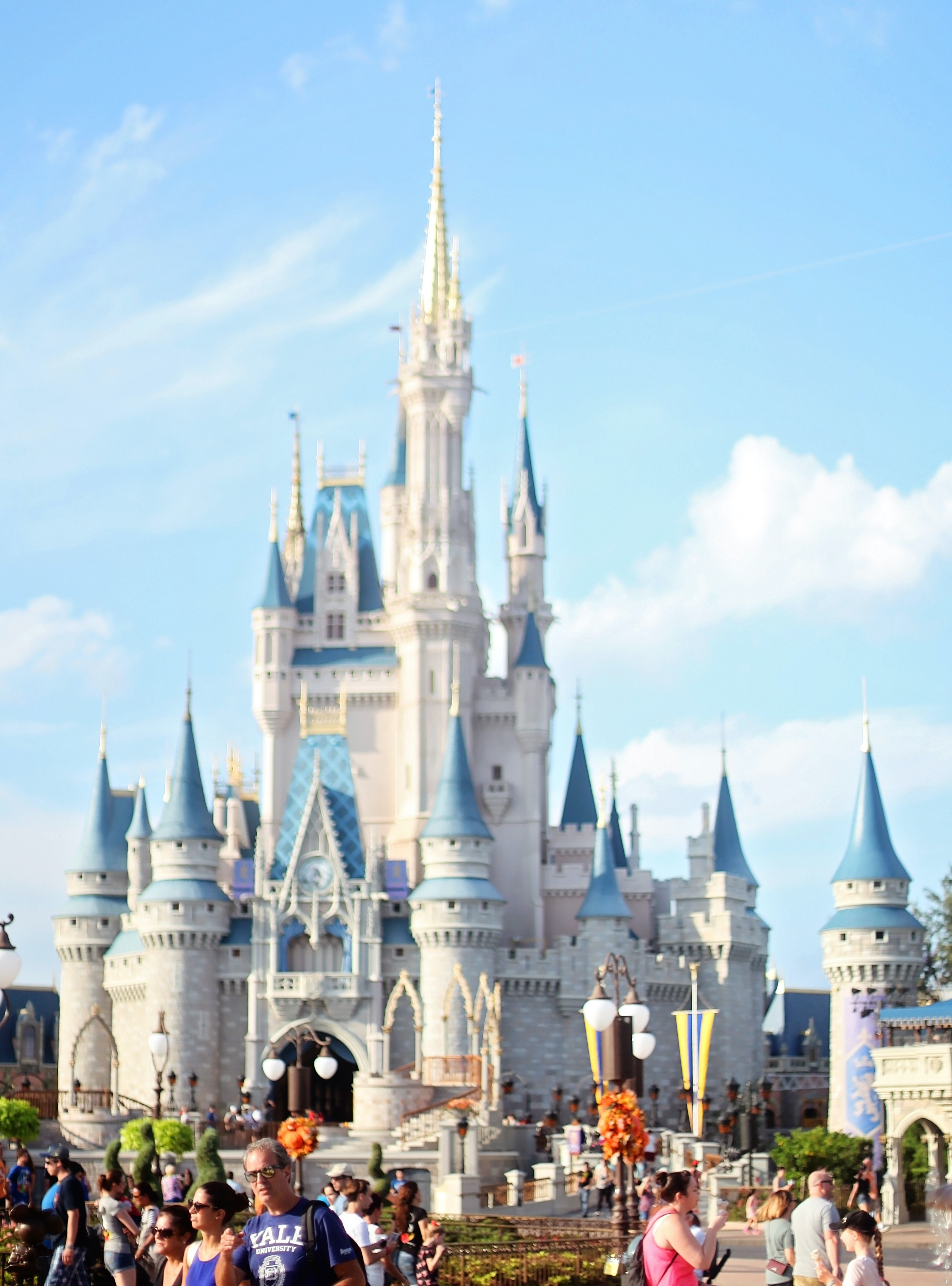 castle at disney world in florida