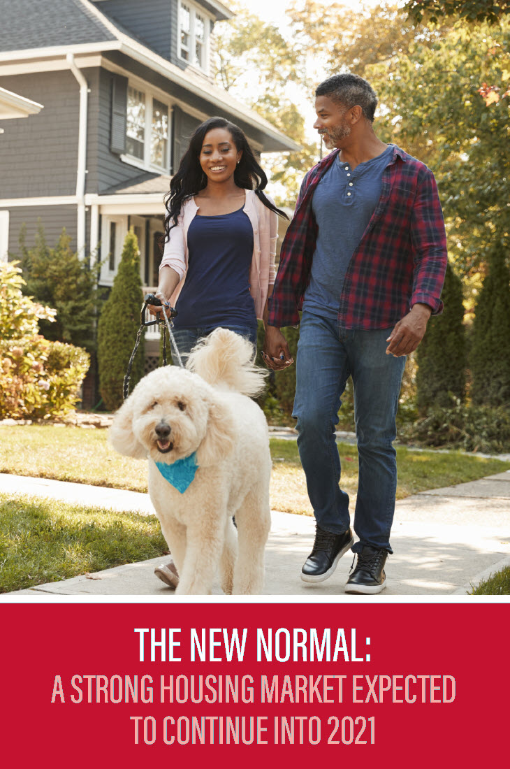 new normal for scottsdale real estate - couple walking dog
