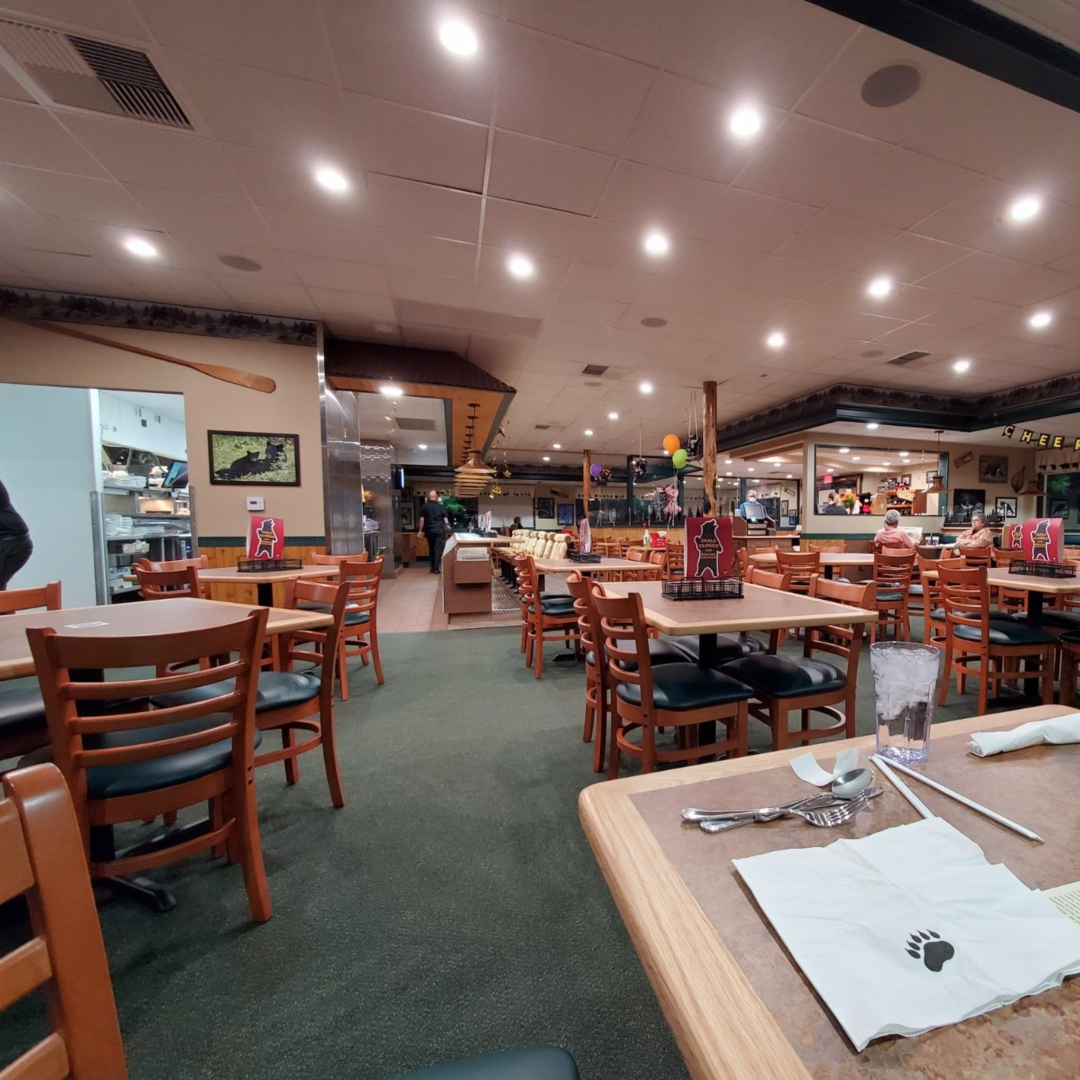 inside the new black bear diner in scottsdale
