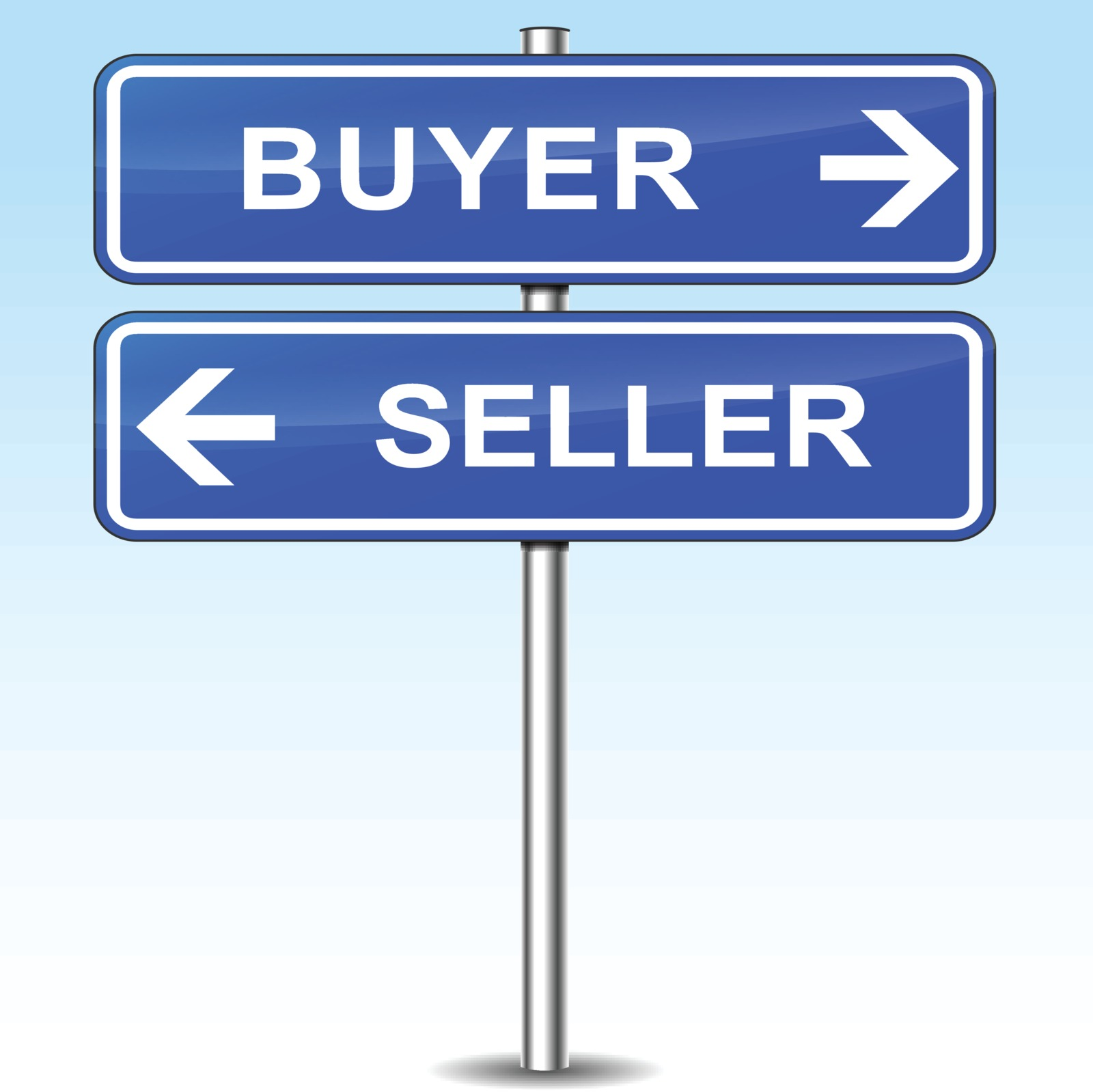 scottsdale real estate buyers & sellers are pointing in opposite directions