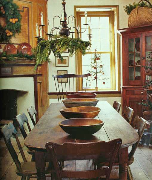 colonial dining room design