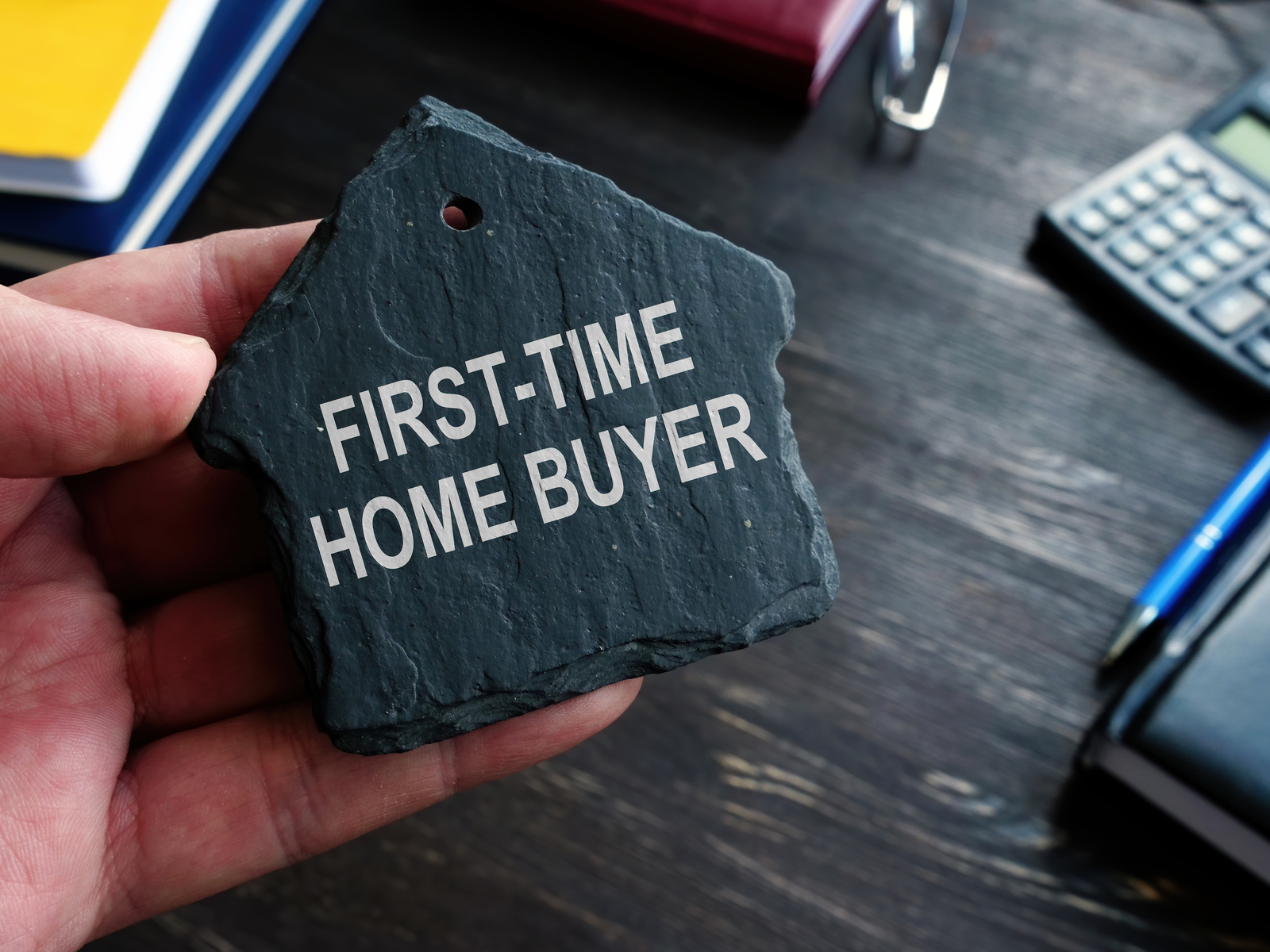 first-time home buyers written in stone