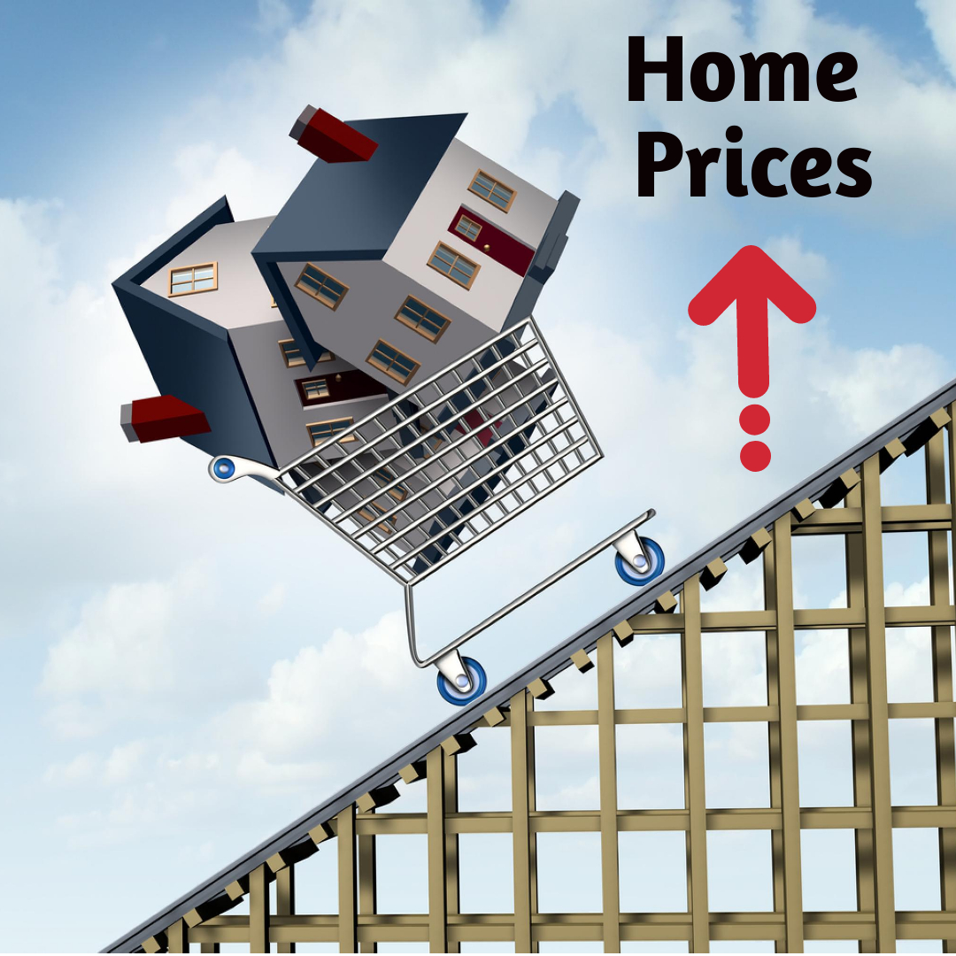 price of scottsdale homes in shopping cart going up
