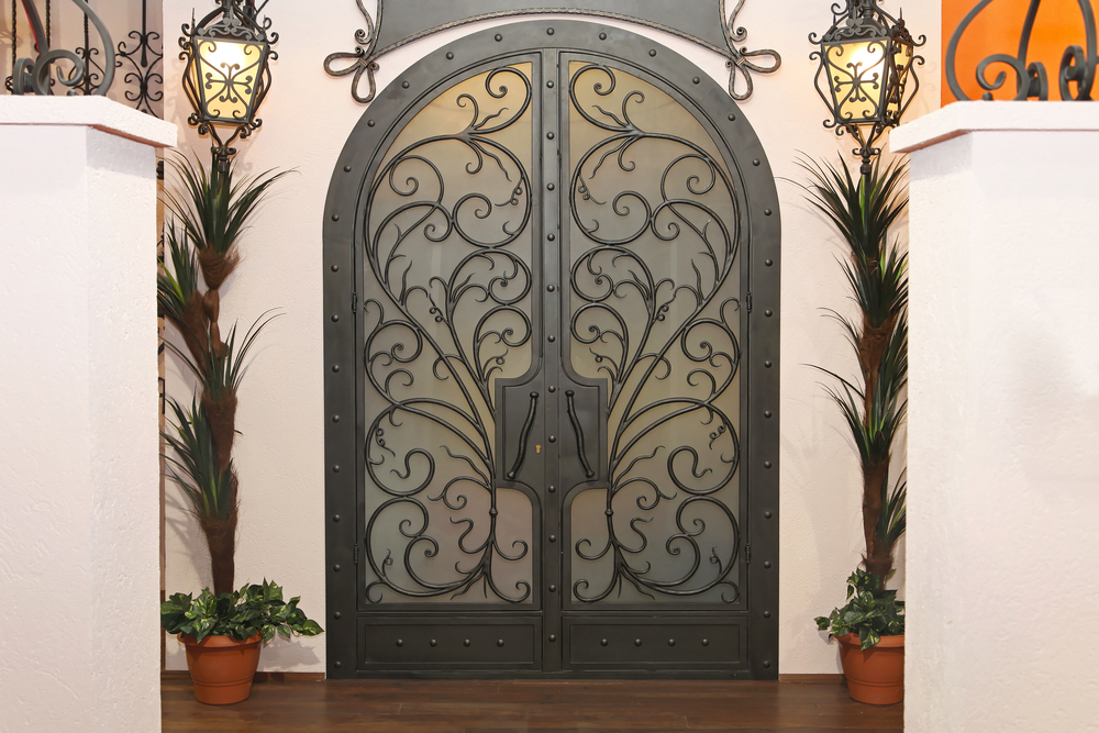 iron storm doors provide safety & beauty for your scottsdale home