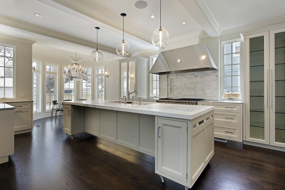 decluttered kitchen in a scottsdale home