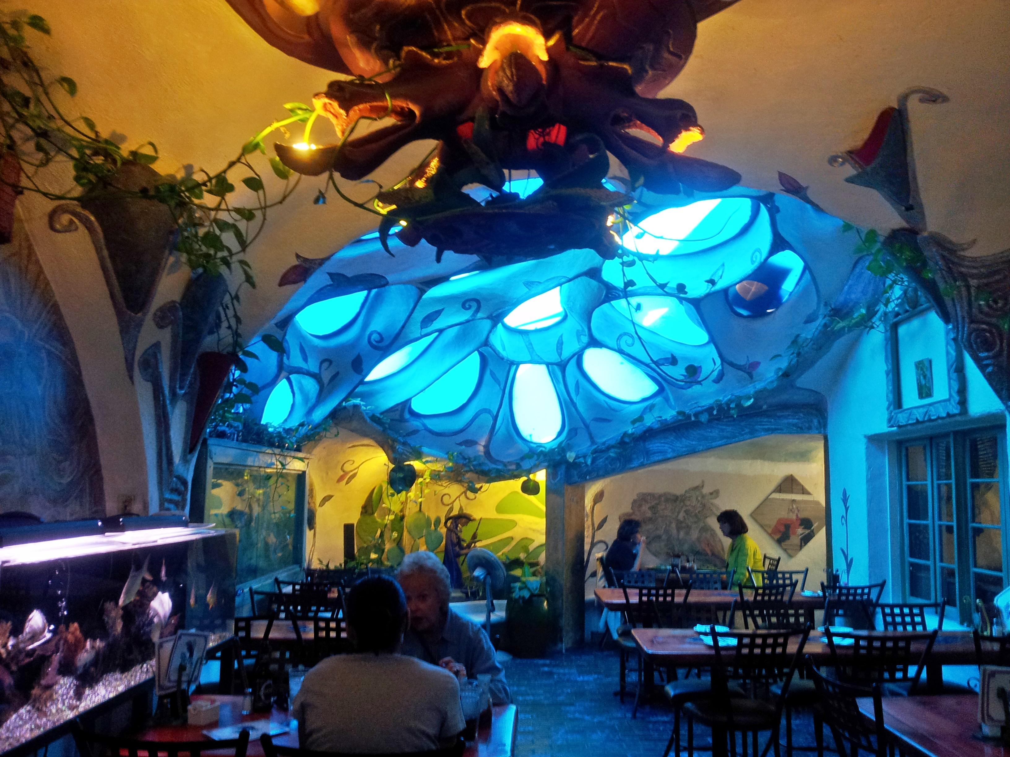 the blue room in los olivos restaurant in scottsdale