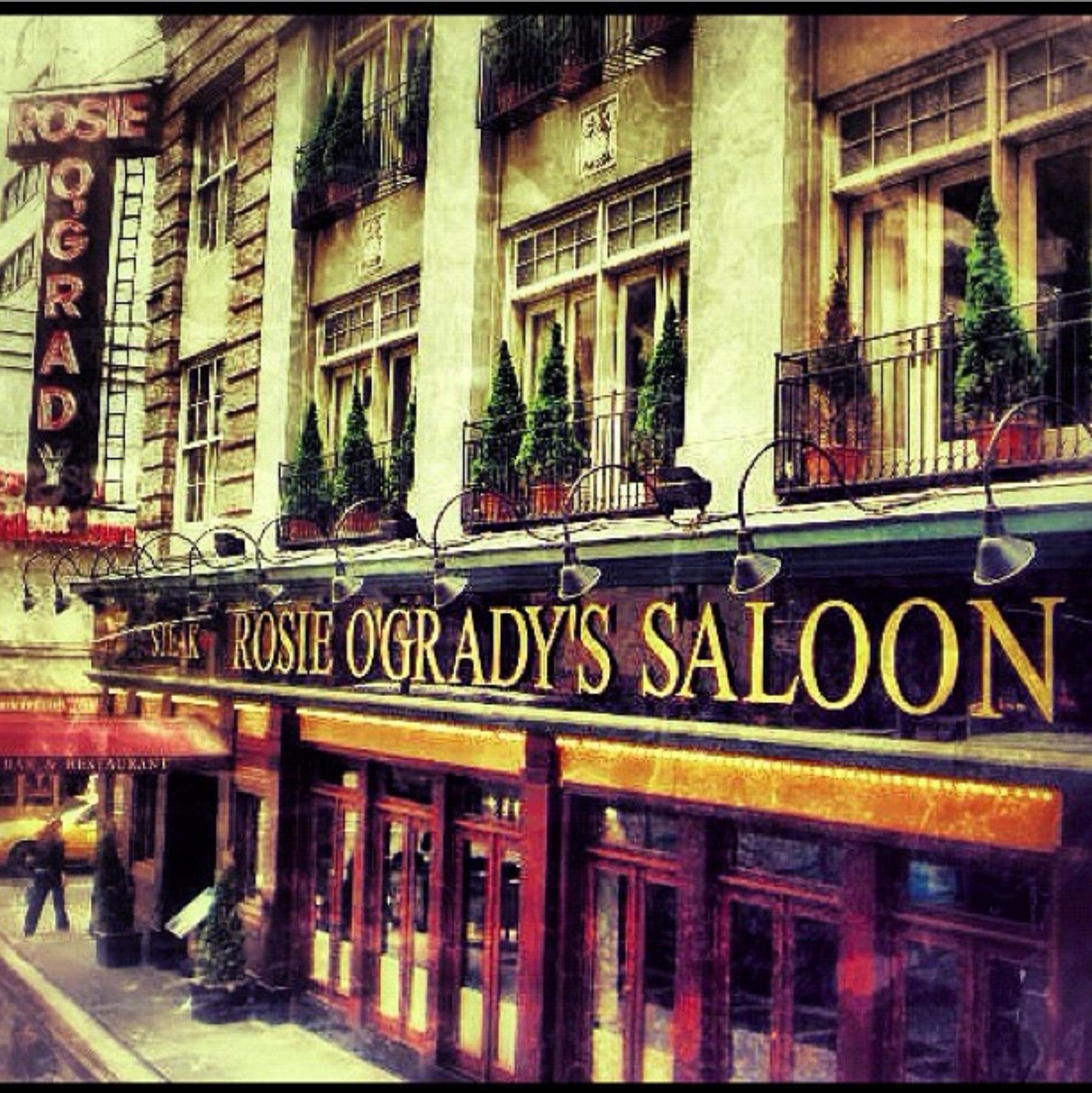 rosie ogradys saloon manhatten new york