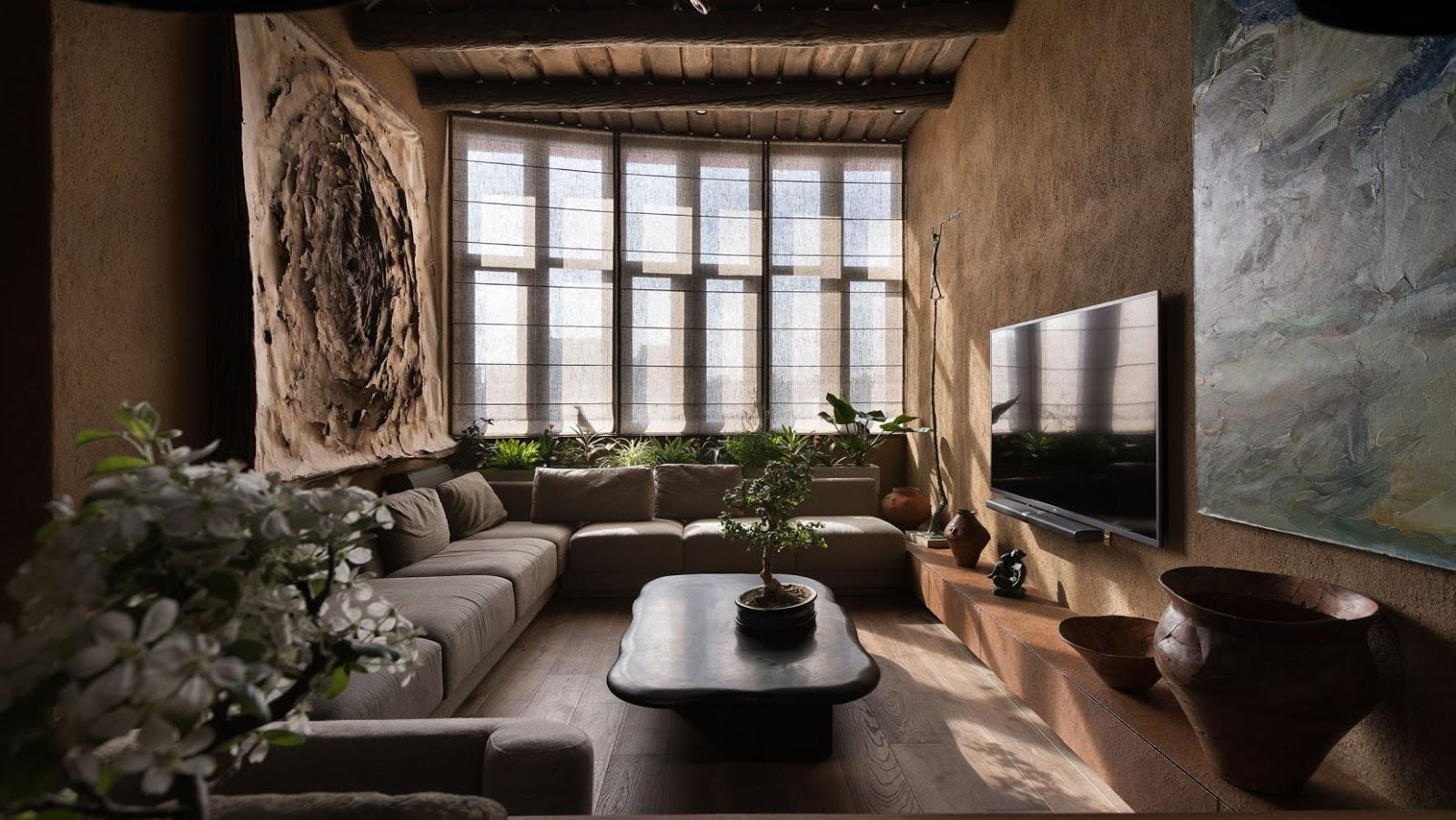 wabi-sabi room design