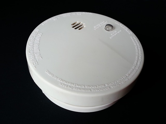 smoke detector in a scottsdale home