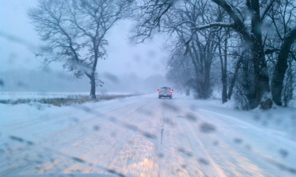 snow street in chicago il