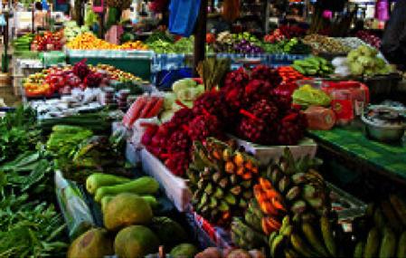 open-air market