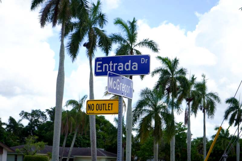 Palm City Park Neighborhood in Fort Myer, Florida