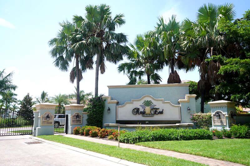 Rail's End Neighborhood in Fort Myer, Florida