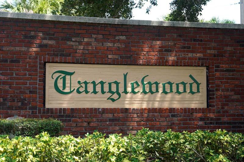 Tanglewood Neighborhood in Fort Myer, Florida