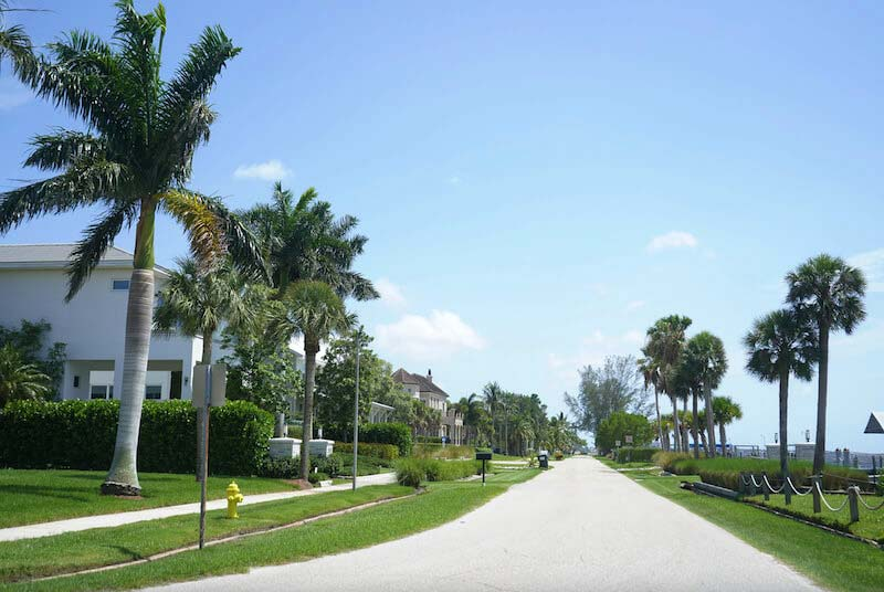 Twin Palm Estates Neighborhood in Fort Myer, Florida