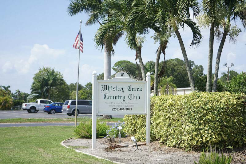 Whiskey Creek Country Club in Fort Myer, Florida