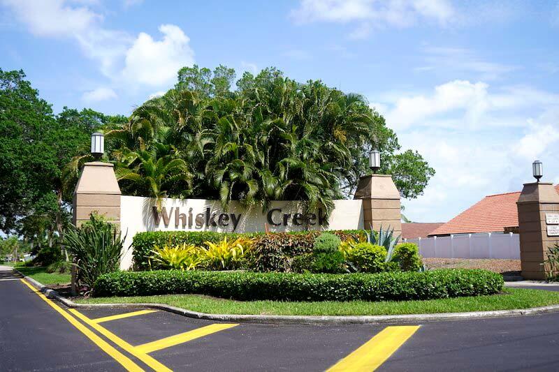 Whiskey Creek Neighborhood in Fort Myer, Florida
