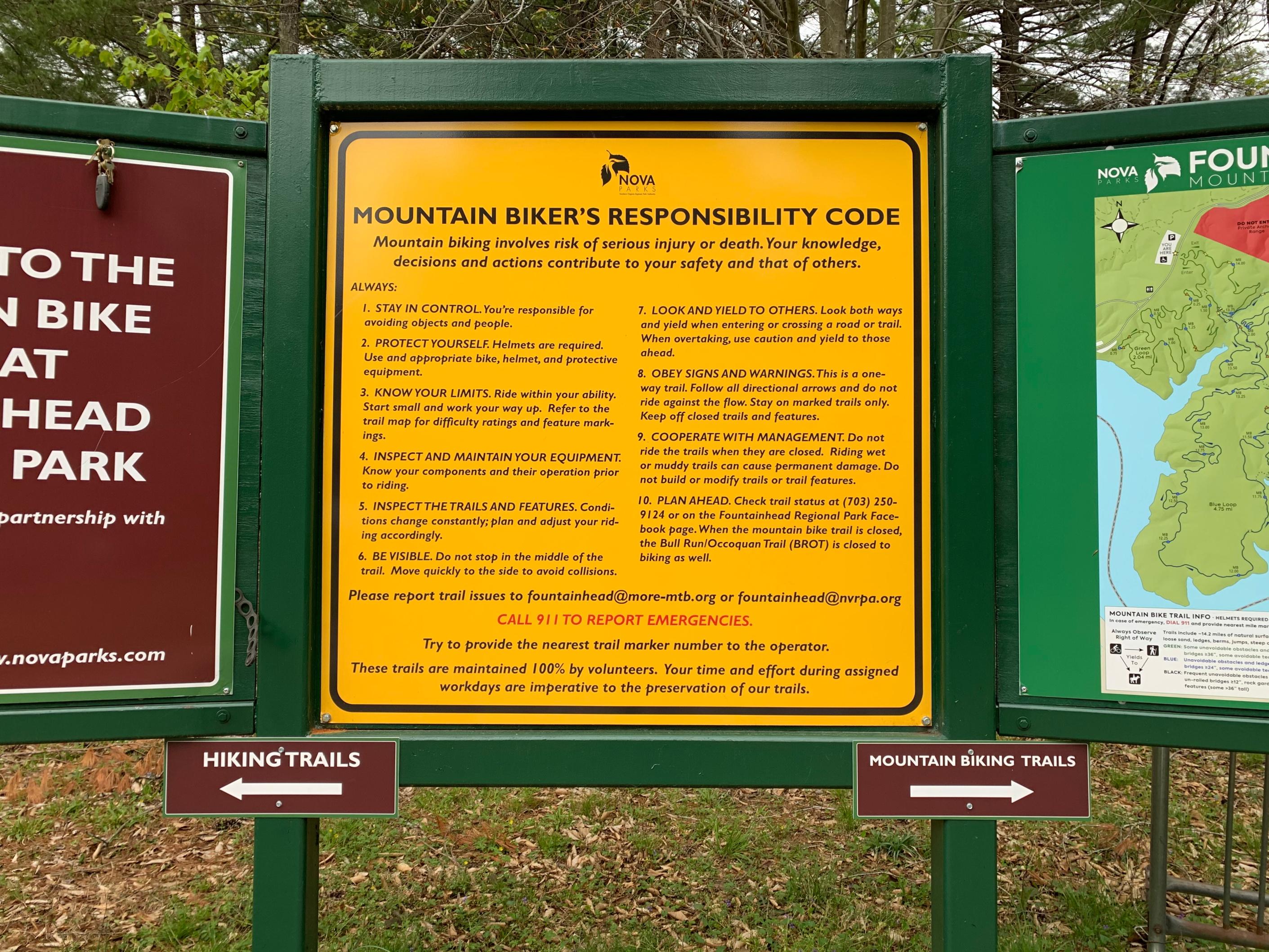 Foutainhead Regional Park_biking trails