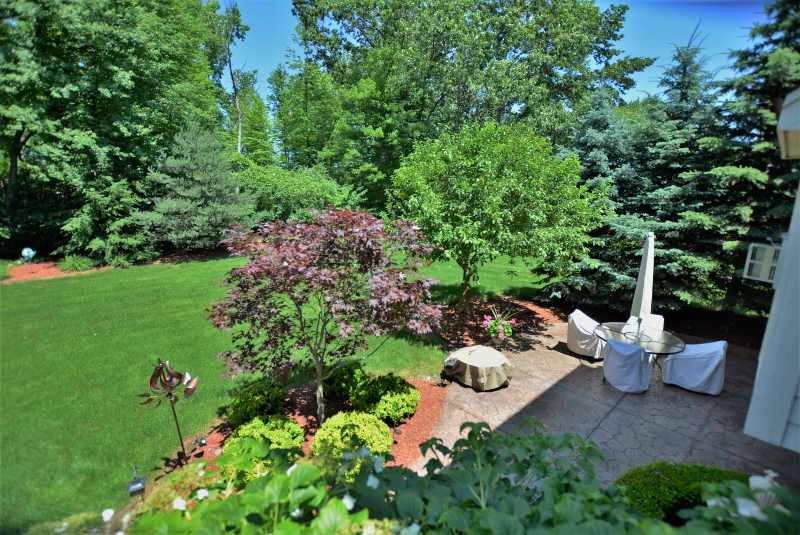 13507 Maple Lawn in Birchfield Subdivision, Shelby Twp Yard