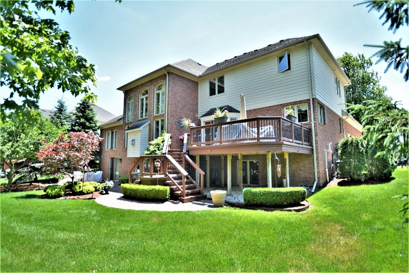 13507 Maple Lawn in Birchfield Subdivision, Shelby Twp Back