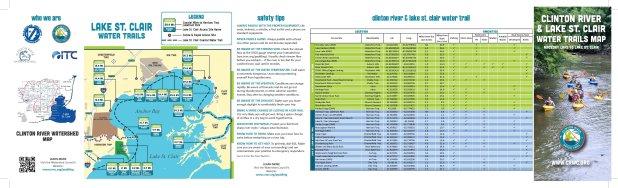 Lake St. Clair Coastal and Clinton River Paddling Trail Maps_2