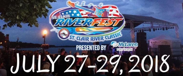 St Clair River Fest 2018