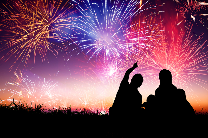 Fireworks with Family