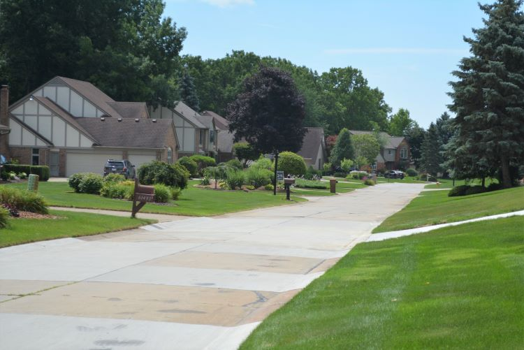 Carriage Hills Subdivision in Washington Township